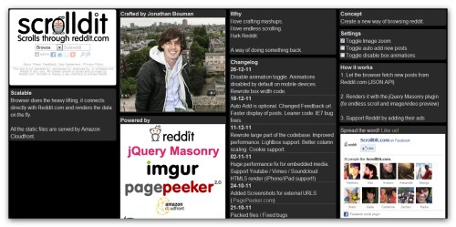 Scrolldit – A new way of browsing reddit | DIRECT INPUT OUTPUT